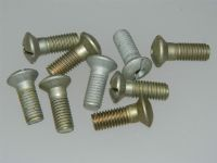"10 x 1/4"" BSF Screws Slotted Raised CSK Head Total Length 13/16"" AS1244-3E [C7]"